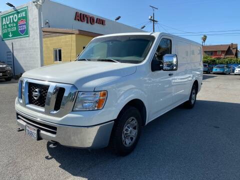 2013 Nissan NV Cargo for sale at Auto Ave in Los Angeles CA