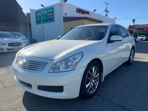 2008 Infiniti G35 for sale at Auto Ave in Los Angeles CA