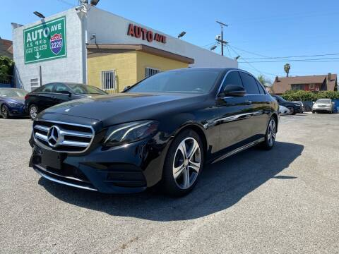 2017 Mercedes-Benz E-Class for sale at Auto Ave in Los Angeles CA