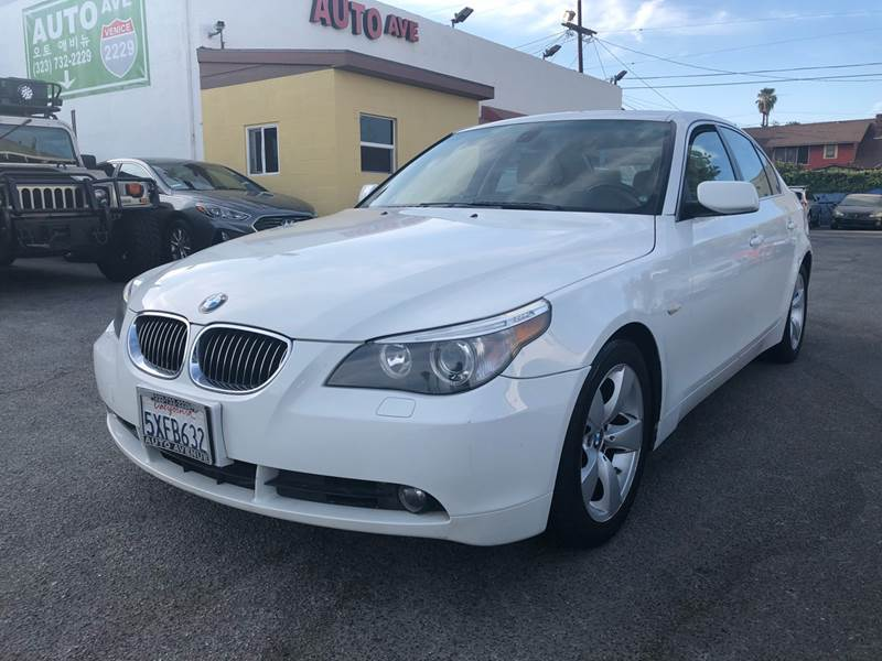2007 BMW 5 Series for sale at Auto Ave in Los Angeles CA