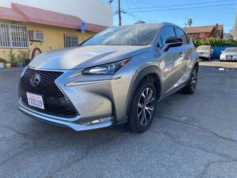 2017 Lexus NX 200t for sale at Auto Ave in Los Angeles CA
