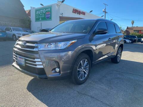 2017 Toyota Highlander for sale at Auto Ave in Los Angeles CA