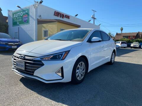 2019 Hyundai Elantra for sale at Auto Ave in Los Angeles CA
