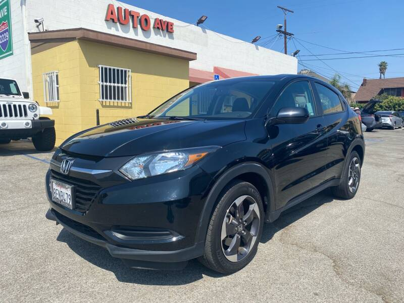 2018 Honda HR-V for sale at Auto Ave in Los Angeles CA
