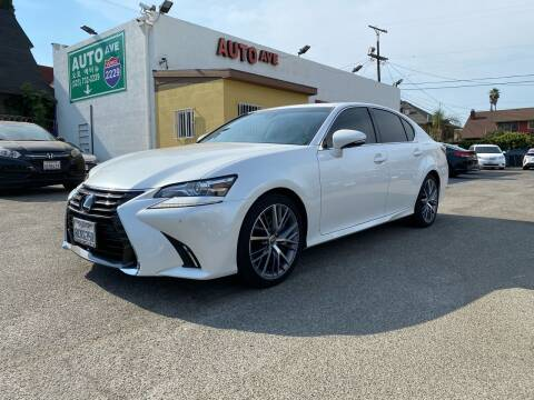 2018 Lexus GS 350 for sale at Auto Ave in Los Angeles CA
