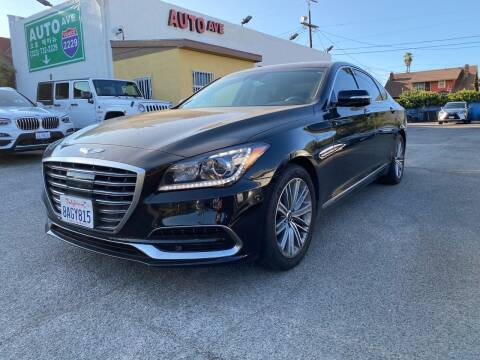 2018 Genesis G80 for sale at Auto Ave in Los Angeles CA