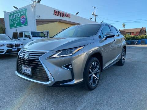 2017 Lexus RX 350 for sale at Auto Ave in Los Angeles CA