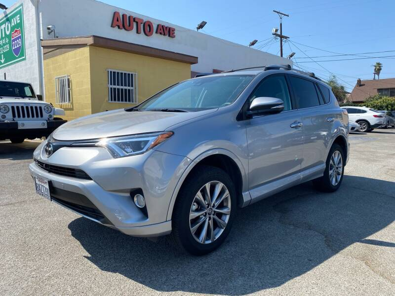 2017 Toyota RAV4 for sale at Auto Ave in Los Angeles CA