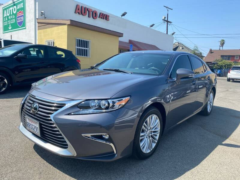 2018 Lexus ES 350 for sale at Auto Ave in Los Angeles CA