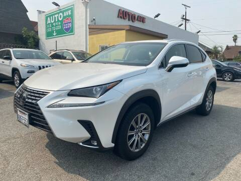 2018 Lexus NX 300 for sale at Auto Ave in Los Angeles CA