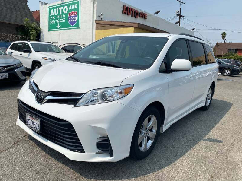 2018 Toyota Sienna for sale at Auto Ave in Los Angeles CA