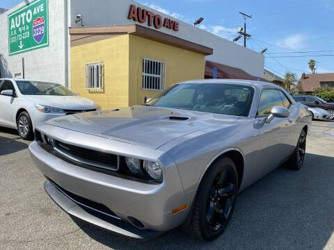 2014 Dodge Challenger for sale at Auto Ave in Los Angeles CA