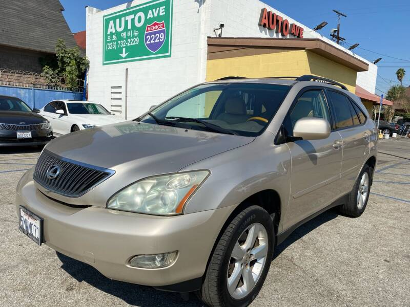 2004 Lexus RX 330 for sale at Auto Ave in Los Angeles CA