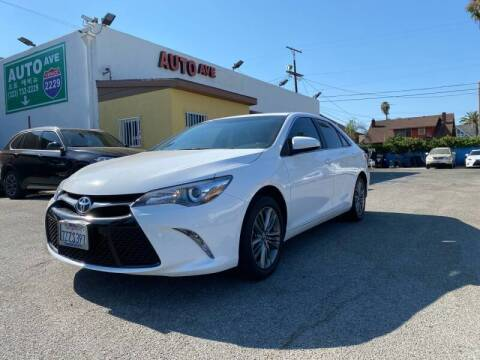 2017 Toyota Camry for sale at Auto Ave in Los Angeles CA