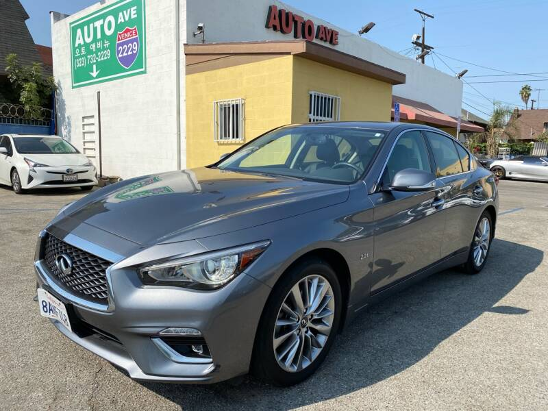 2018 Infiniti Q50 for sale at Auto Ave in Los Angeles CA