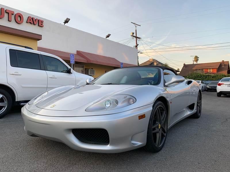 2001 Ferrari 360 Spider for sale at Auto Ave in Los Angeles CA