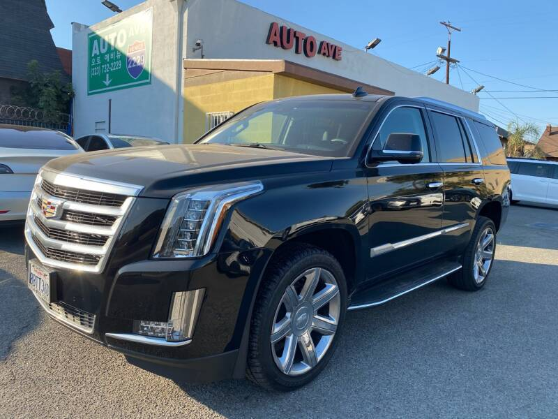 2017 Cadillac Escalade for sale at Auto Ave in Los Angeles CA
