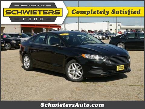 2015 Ford Fusion for sale in Montevideo, MN