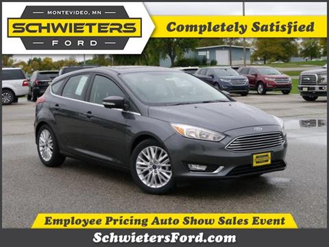 2017 Ford Focus for sale in Montevideo, MN