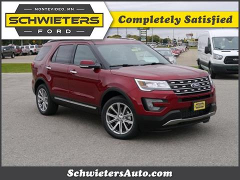 2017 Ford Explorer for sale in Montevideo, MN