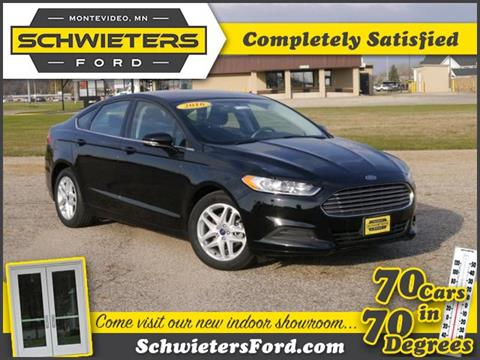 2016 Ford Fusion for sale in Montevideo, MN