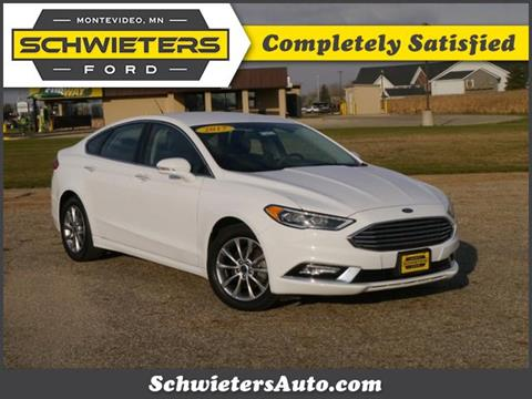 2017 Ford Fusion for sale in Montevideo, MN
