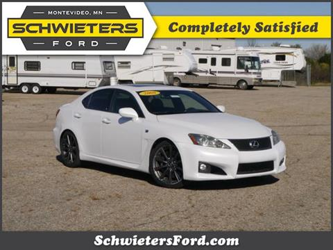 2008 Lexus IS F For Sale In Montevideo, MN