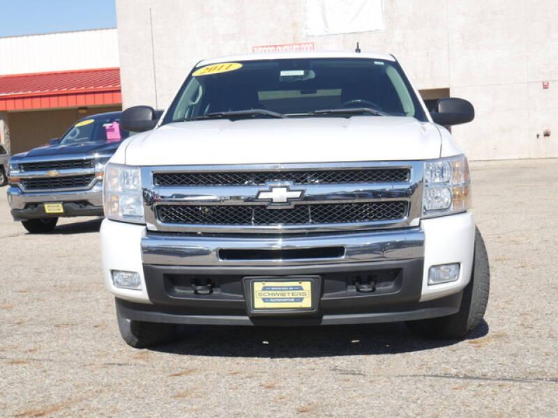 2011 Chevrolet Silverado 1500 4x4 LT 4dr Extended Cab 6.5 ft. SB - Montevideo MN