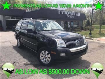 2006 Mercury Mountaineer for sale in Canton, MI