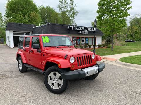 2010 Jeep Wrangler Unlimited for sale in Canton, MI
