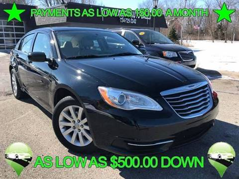 2012 Chrysler 200 for sale in Canton, MI