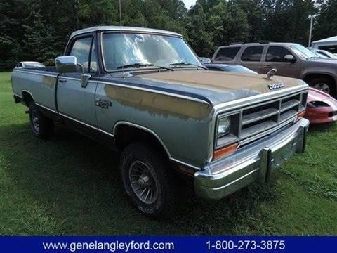 1989 Dodge RAM 150 for sale in Humboldt, TN
