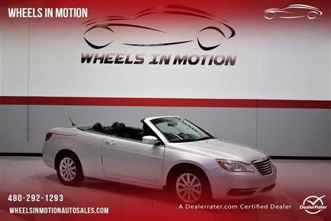 2012 Chrysler 200 Convertible for sale in Tempe, AZ