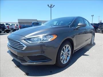 2017 Ford Fusion for sale in Sayre, OK
