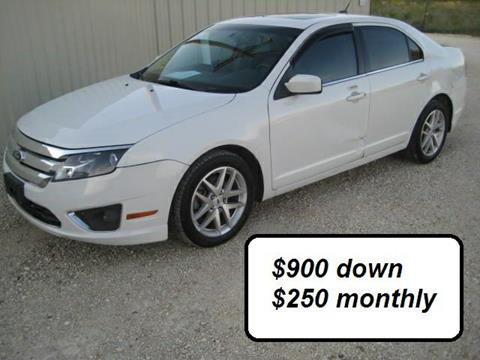 2010 Ford Fusion for sale in Bruceville, TX