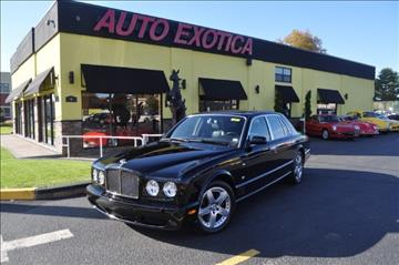 2007 Bentley Arnage for sale at Auto Exotica in Red Bank NJ