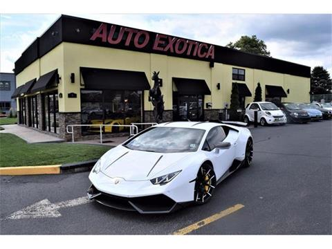2015 Lamborghini Huracan for sale in Red Bank, NJ