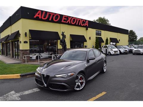 2017 Alfa Romeo Giulia Quadrifoglio for sale in Red Bank, NJ
