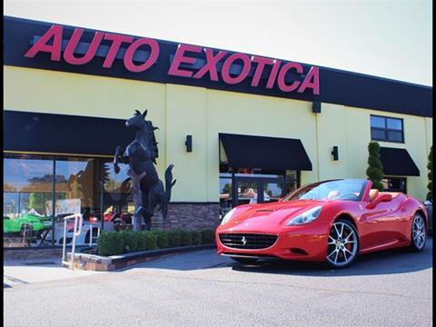 ferrari used cars for sale red bank auto exotica. Black Bedroom Furniture Sets. Home Design Ideas