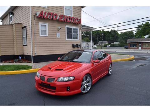 pontiac gto for sale in new jersey. Black Bedroom Furniture Sets. Home Design Ideas