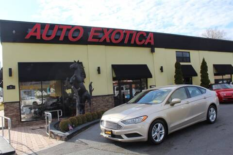 2018 Ford Fusion for sale at Auto Exotica in Red Bank NJ