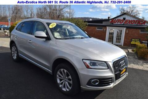 2016 Audi Q5 for sale at Auto Exotica in Red Bank NJ