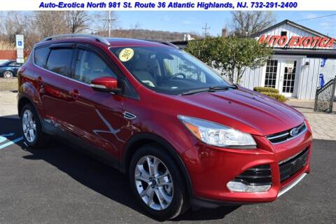 2015 Ford Escape for sale at Auto Exotica in Red Bank NJ