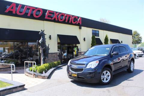 2015 Chevrolet Equinox for sale at Auto Exotica in Red Bank NJ