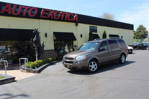 2005 Chevrolet Uplander for sale at Auto Exotica in Red Bank NJ