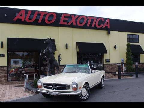 1970 Mercedes-Benz SL-Class for sale at Auto Exotica in Red Bank NJ