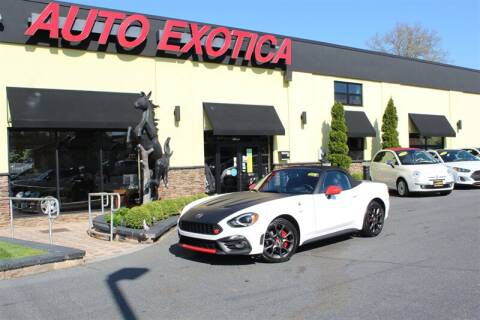 2017 FIAT 124 Spider for sale at Auto Exotica in Red Bank NJ