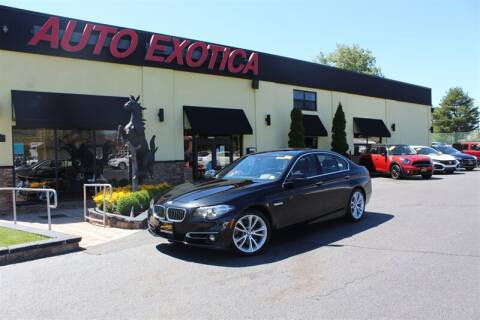 2015 BMW 5 Series for sale at Auto Exotica in Red Bank NJ
