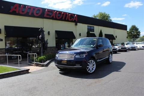 2015 Land Rover Range Rover for sale at Auto Exotica in Red Bank NJ
