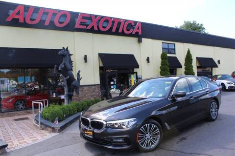 2017 BMW 5 Series for sale at Auto Exotica in Red Bank NJ